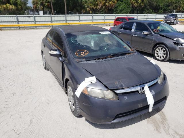 Salvage cars for sale from Copart Fort Pierce, FL: 2008 Honda Civic Hybrid