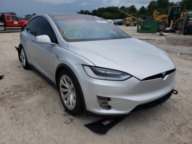 Tesla salvage cars for sale: 2016 Tesla Model X