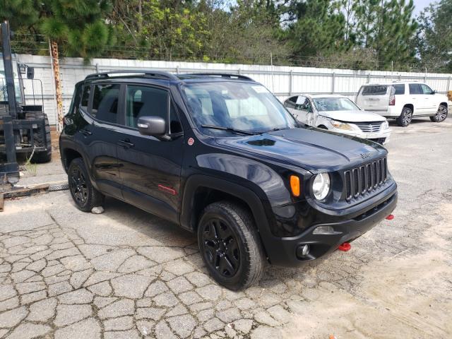 Vehiculos salvage en venta de Copart Gaston, SC: 2018 Jeep Renegade T