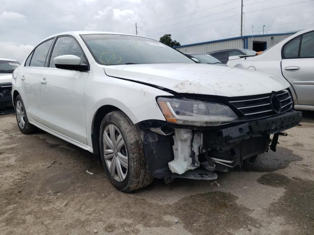 Salvage cars for sale from Copart Riverview, FL: 2017 Volkswagen Jetta S