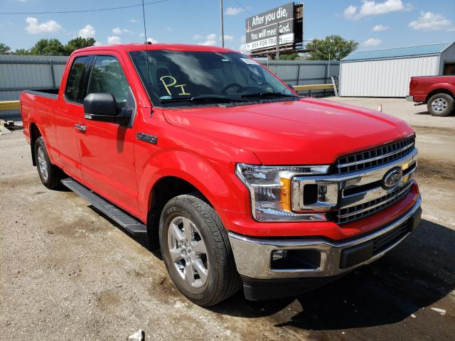 Salvage cars for sale from Copart Wichita, KS: 2018 Ford F150 Super