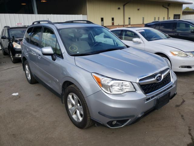 Salvage cars for sale from Copart Marlboro, NY: 2015 Subaru Forester 2