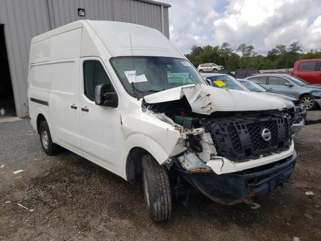 Salvage cars for sale from Copart Jacksonville, FL: 2014 Nissan NV 2500