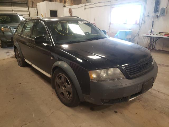 Salvage cars for sale at Casper, WY auction: 2001 Audi Allroad