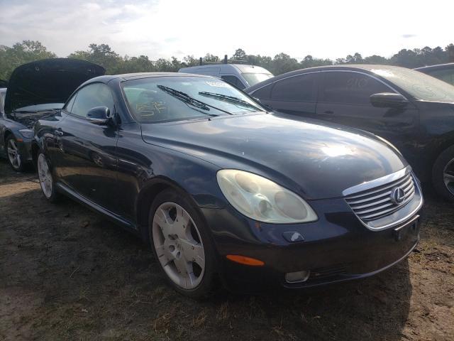 Salvage cars for sale at Windsor, NJ auction: 2004 Lexus SC 430