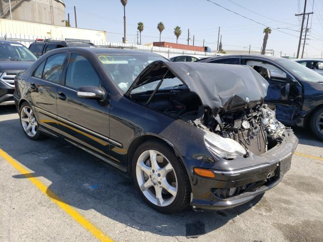 Salvage cars for sale from Copart Wilmington, CA: 2007 Mercedes-Benz C 230