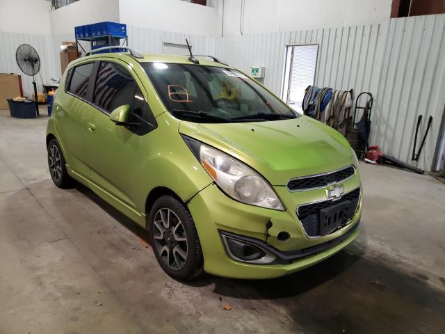 Vehiculos salvage en venta de Copart Lufkin, TX: 2013 Chevrolet Spark 2LT
