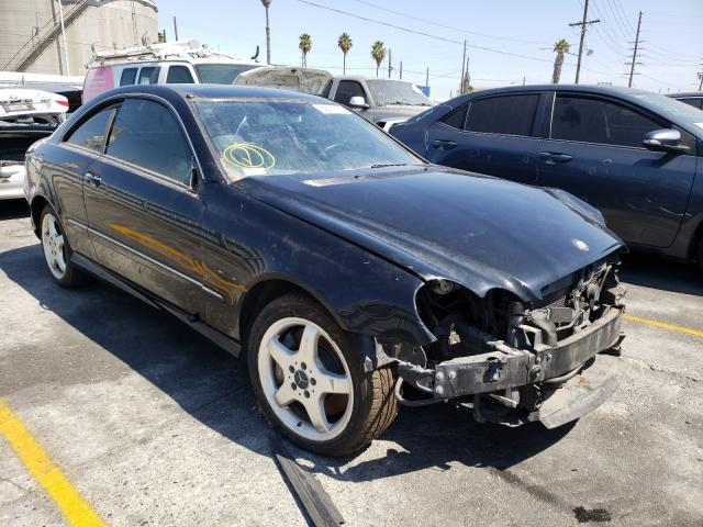 Salvage cars for sale from Copart Wilmington, CA: 2003 Mercedes-Benz CLK 500