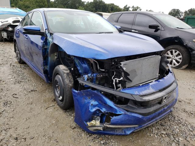 Salvage cars for sale from Copart Ellenwood, GA: 2021 Honda Civic EX