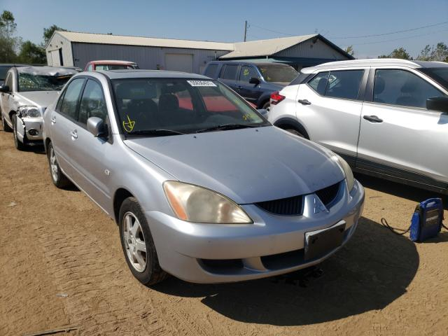 Salvage cars for sale from Copart Pekin, IL: 2004 Mitsubishi Lancer LS