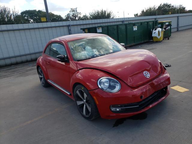 Vehiculos salvage en venta de Copart Wilmer, TX: 2012 Volkswagen Beetle Turbo