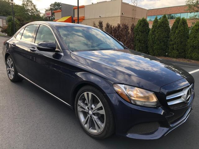 Mercedes-Benz salvage cars for sale: 2017 Mercedes-Benz C300