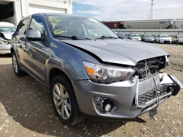 Salvage cars for sale from Copart Blaine, MN: 2014 Mitsubishi Outlander