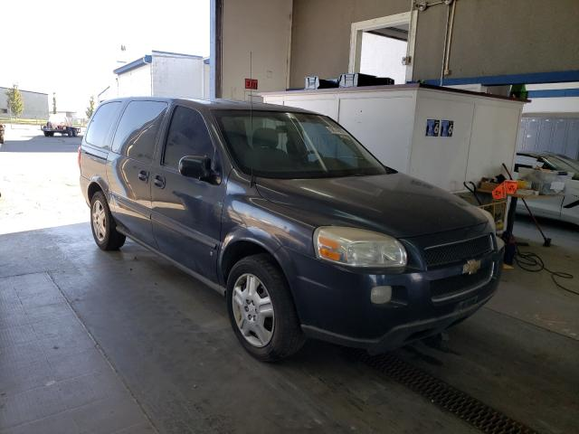 Salvage cars for sale from Copart Pasco, WA: 2008 Chevrolet Uplander L