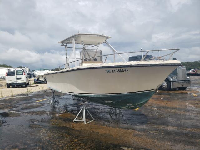 Salvage boats for sale at Theodore, AL auction: 1986 Isla Boat
