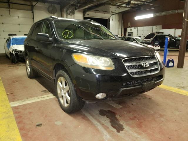 Salvage cars for sale from Copart Marlboro, NY: 2007 Hyundai Santa FE S