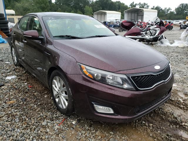 Salvage cars for sale from Copart Ellenwood, GA: 2014 KIA Optima EX