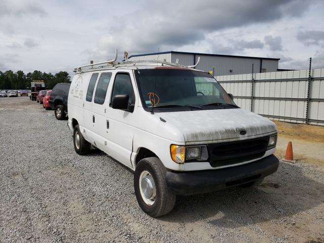 Vehiculos salvage en venta de Copart Lumberton, NC: 2002 Ford Econoline