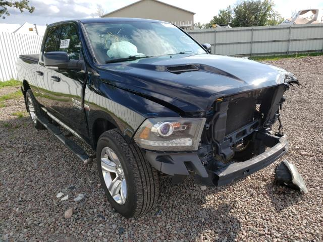 Salvage cars for sale from Copart Central Square, NY: 2014 Dodge RAM 1500 Sport
