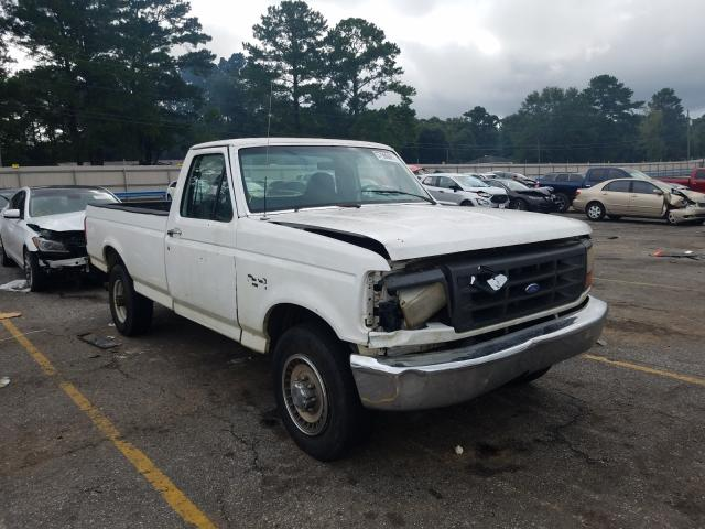 Ford F250 salvage cars for sale: 1997 Ford F250