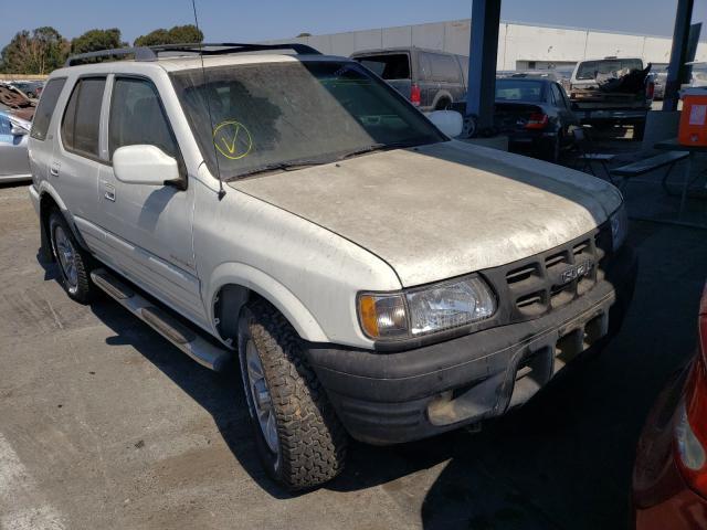 Isuzu salvage cars for sale: 2001 Isuzu Rodeo S