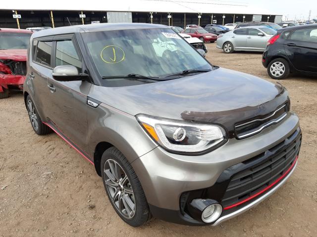 Salvage cars for sale from Copart Phoenix, AZ: 2017 KIA Soul