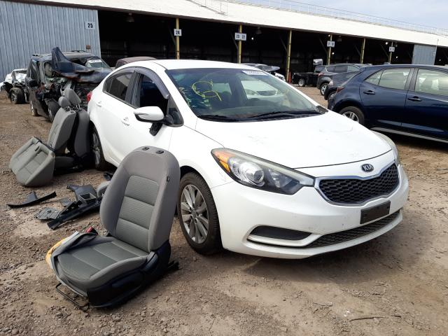 Salvage cars for sale at Phoenix, AZ auction: 2016 KIA Forte LX