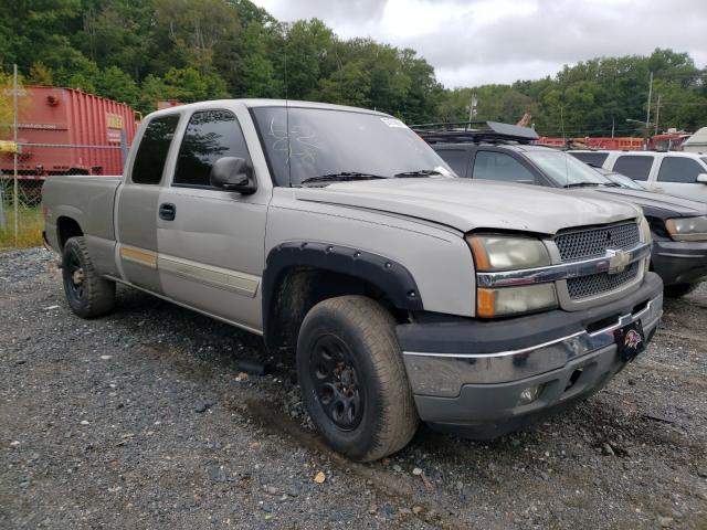 Salvage trucks for sale at Finksburg, MD auction: 2005 Chevrolet Silverado