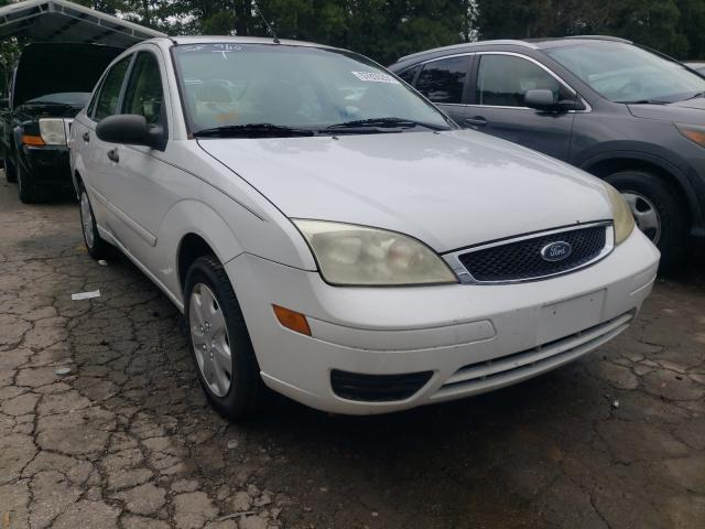 Salvage cars for sale from Copart Austell, GA: 2007 Ford Focus ZX4