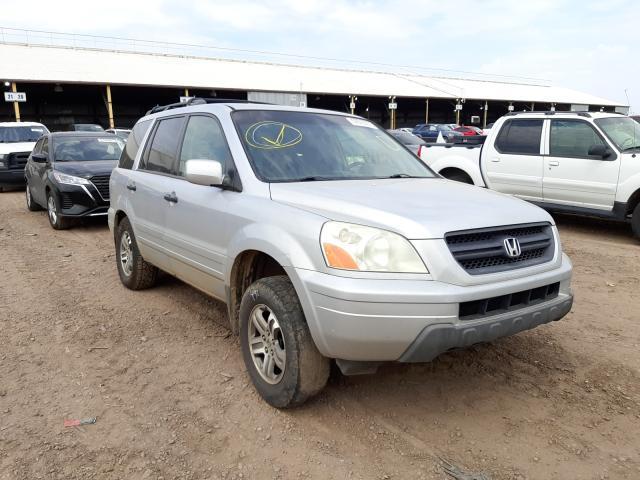 Salvage cars for sale from Copart Phoenix, AZ: 2003 Honda Pilot EX