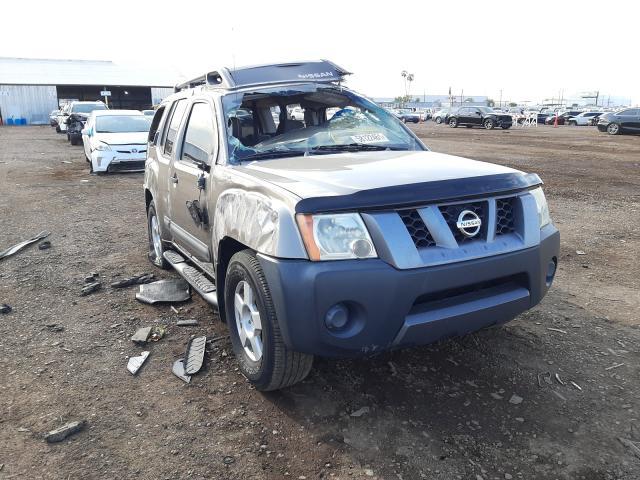 Salvage cars for sale at Phoenix, AZ auction: 2005 Nissan Xterra OFF