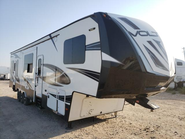 Trailers salvage cars for sale: 2017 Trailers Travel Trailer