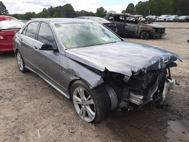 Salvage cars for sale at Conway, AR auction: 2012 Mercedes-Benz E 350