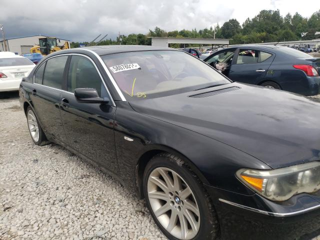 BMW 7 Series salvage cars for sale: 2003 BMW 7 Series