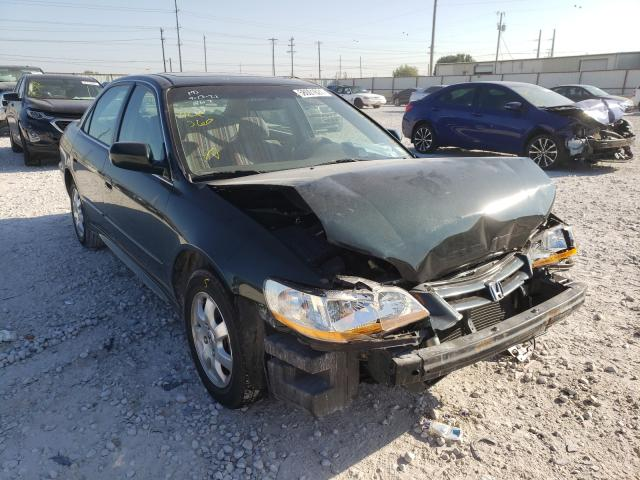 Salvage cars for sale from Copart Haslet, TX: 2001 Honda Accord EX