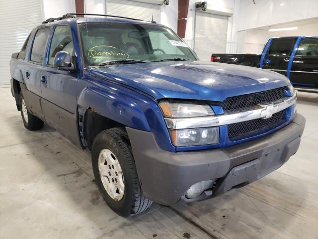 Chevrolet Avalanche salvage cars for sale: 2003 Chevrolet Avalanche