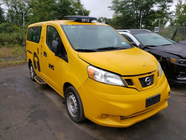 Salvage cars for sale from Copart Marlboro, NY: 2014 Nissan NV200 Taxi