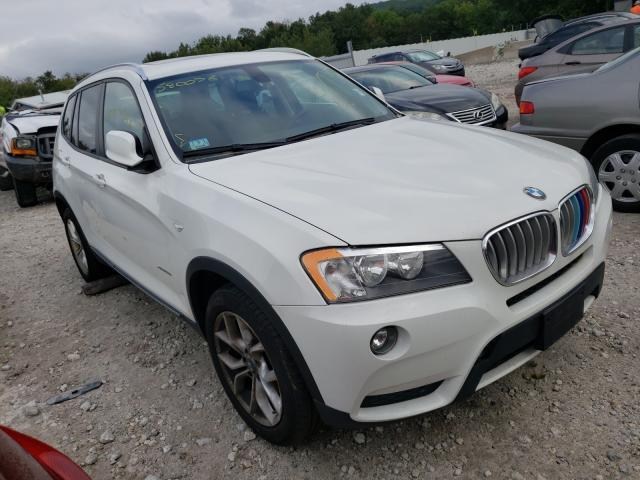 Salvage cars for sale from Copart Warren, MA: 2013 BMW X3 XDRIVE2