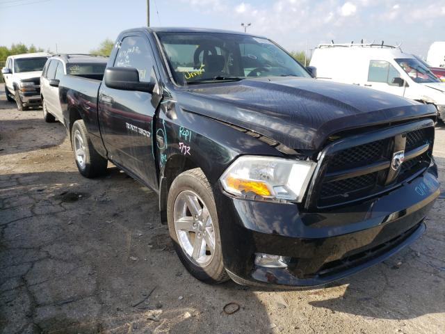Salvage cars for sale from Copart Indianapolis, IN: 2012 Dodge RAM 1500 S