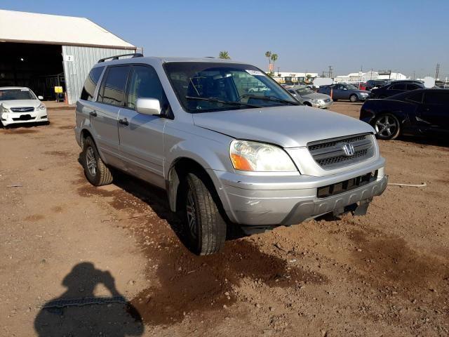 Salvage cars for sale from Copart Phoenix, AZ: 2004 Honda Pilot EXL