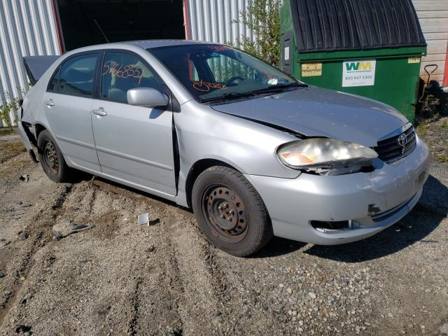 Salvage cars for sale at Lyman, ME auction: 2008 Toyota Corolla CE