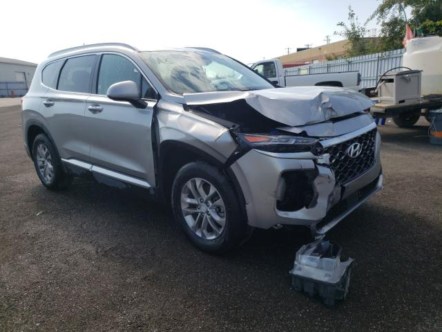 Salvage cars for sale from Copart Bowmanville, ON: 2020 Hyundai Santa FE S
