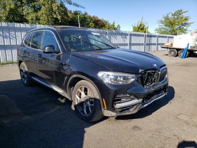 Salvage cars for sale at Bowmanville, ON auction: 2021 BMW X3 XDRIVE3