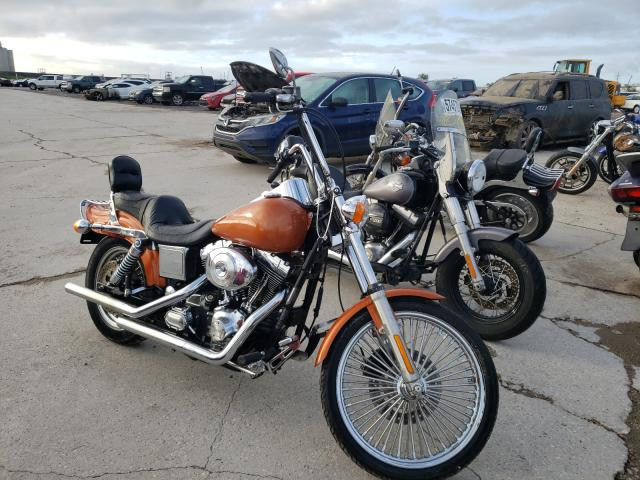 Salvage cars for sale from Copart New Orleans, LA: 2001 Harley-Davidson Fxdwg