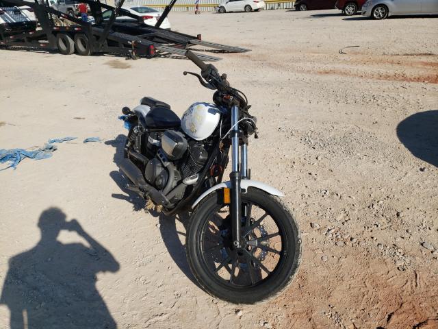 Salvage motorcycles for sale at Oklahoma City, OK auction: 2014 Yamaha XVS950 CU