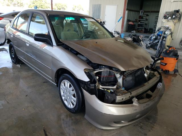 Salvage cars for sale from Copart Homestead, FL: 2005 Honda Civic LX