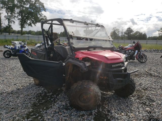 Salvage cars for sale from Copart Byron, GA: 2016 Honda SXS1000 M3