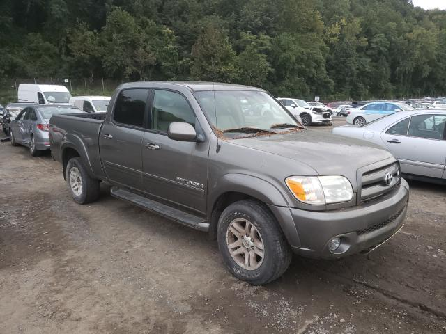 Salvage cars for sale from Copart Marlboro, NY: 2005 Toyota Tundra DOU