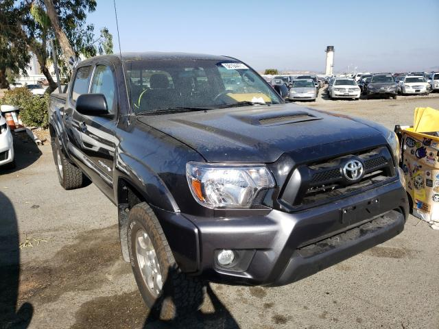 Salvage cars for sale from Copart Martinez, CA: 2015 Toyota Tacoma DOU