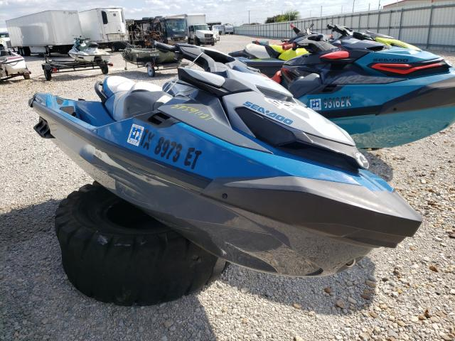 Salvage cars for sale from Copart Haslet, TX: 2019 Seadoo GTX155
